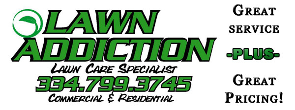 Lawn addiction in millbrook alabama relylocal for Local lawn care services
