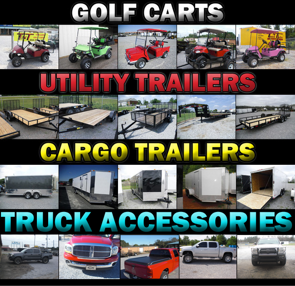 cargo trailers and utility trailer sales in prattville and millbrook, al