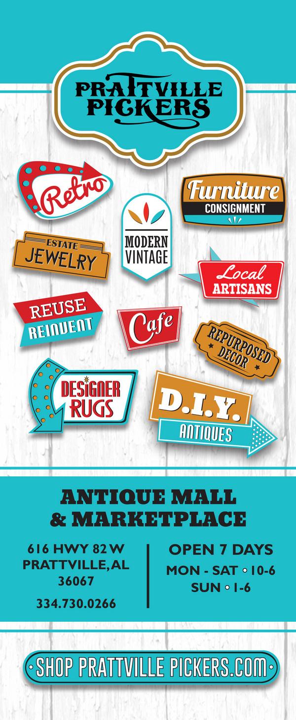 Prattville Pickers Antique Mall in Prattville, al