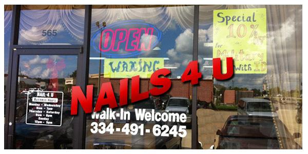 nails 4 you in prattville al