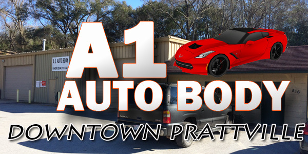 a1 auto body repair shop prattville al