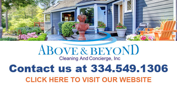 above and beyond cleaning and concierge service in prattville