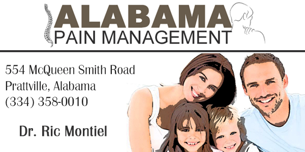 alabama pain management, llc in prattville al