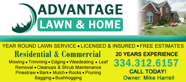 advantage lawn and home care services in prattville al