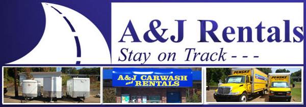 a & j rentals, a and j rentals, car, van and truck rentals