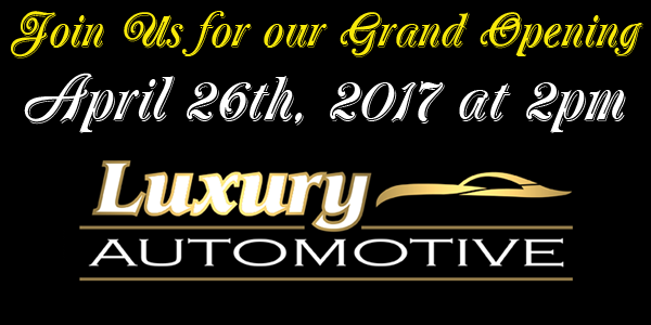 luxury automotive grand opening in prattville al