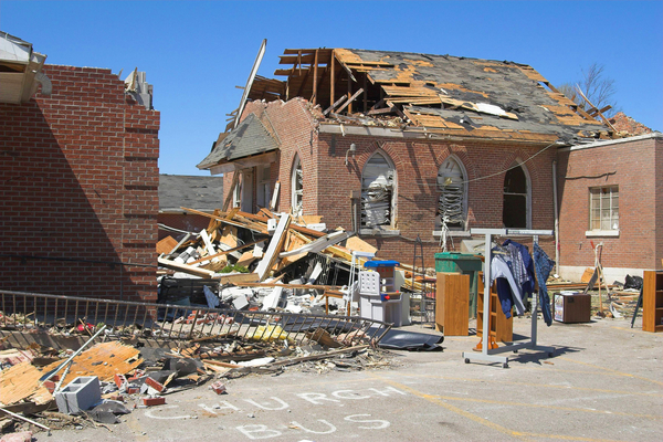 storm damage clean up and restoration