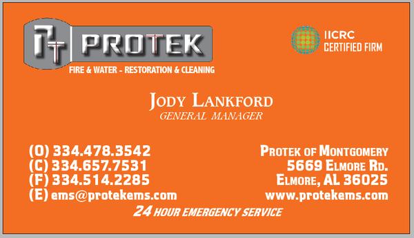 Protek Restoration service in Elmore, AL