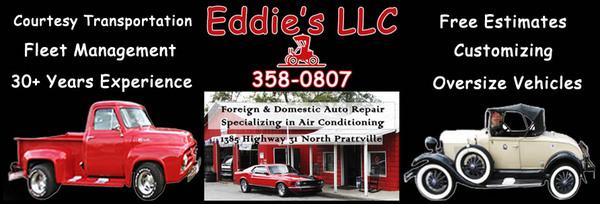 eddies's auto repair prattville al