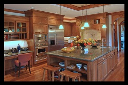 kitchen part of home inspection in orange county